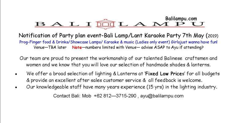 Bali lampu - in pub file 8th Apr -19 jpg
